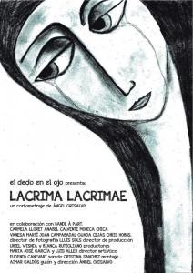 Cartel LACRIMA LACRIMAE
